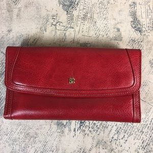 Bosca Red Leather Wallet